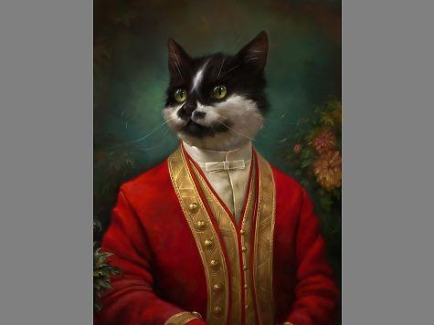 Серпуховский музей принял наработу кота