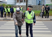 Серпуховским автолюбителям напомнили о проблемах слепых