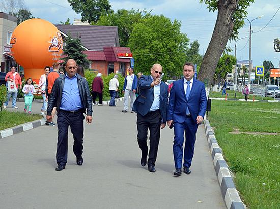 Благоустройство в Серпухове идет по плану