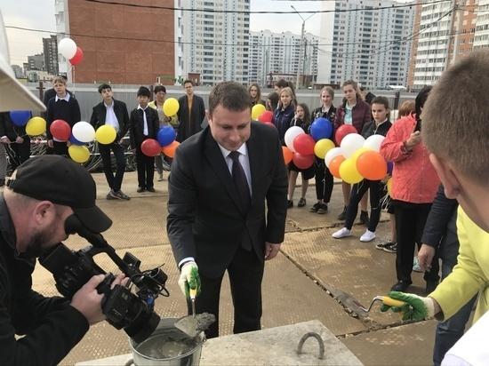 В Ивановских двориках приступили к строительству новой школы