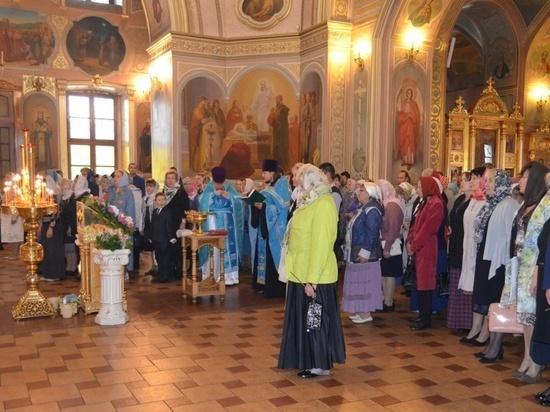Молебен о граде Серпухове состоялся в соборе Николы Белого