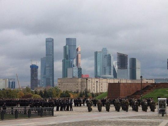 Курсанты из Серпухова и Протвино приняли присягу в Парке Победы