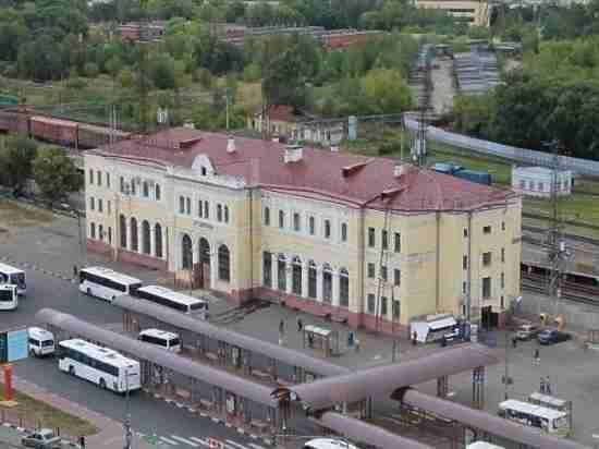 В какой цвет перекрасят здание вокзала в Серпухове