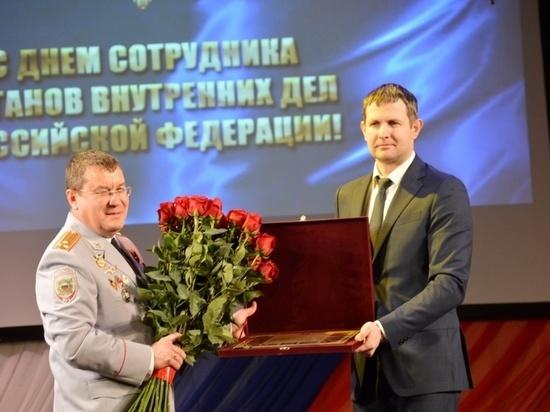 В Серпухове отметили День сотрудника органов внутренних дел РФ